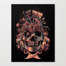 Dead Pirate's Gold Canvas Print