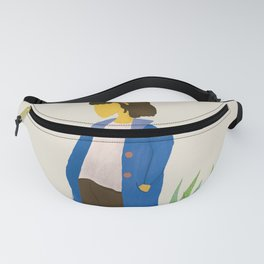 Courage is fear holding on a minute longer Fanny Pack