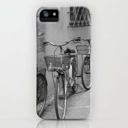 Bicycles in Lucca iPhone Case