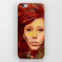 irish iPhone & iPod Skins featuring Irish fairy by Ganech joe