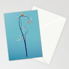 The Owl and the Butterfly Stationery Cards