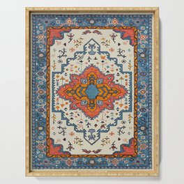 N125 - HQ Bohemian Traditional Moroccan Style Decor Artwork. Serving Tray