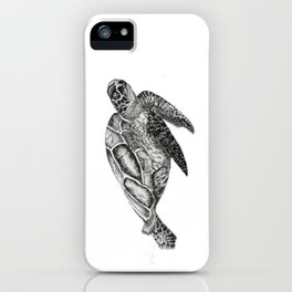 the lil sea guy iPhone Case