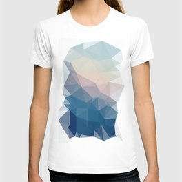 BE WITH ME - TRIANGLES ABSTRACT #PINK #BLUE #1 T-shirt