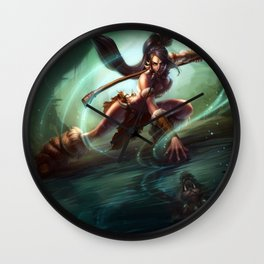 Classic Nidalee League Of Legends Wall Clock