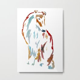 For the Love of Collie Metal Print