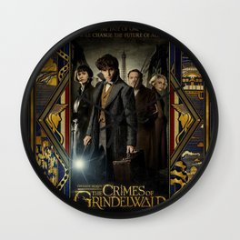 Fantastic Beasts The Crimes of Grindelwald Wall Clock