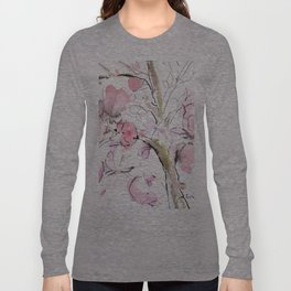Sumie No.14 Magnolia Long Sleeve T-shirt