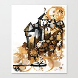 Castle float Canvas Print