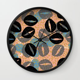 Co-Co Cowries Wall Clock