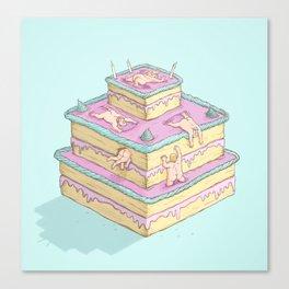 Cake lovers Canvas Print