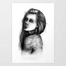 Periphery // Illustration by Hayley Wright Art Print