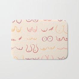 Boobies Are Beautiful Bath Mat