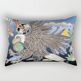 eagles flight Rectangular Pillow