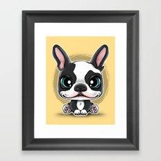 Cute Puppies series N.1 Framed Art Print