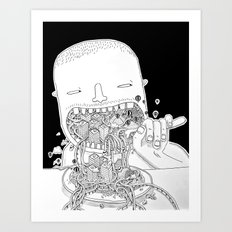 Eat Millo Art Print