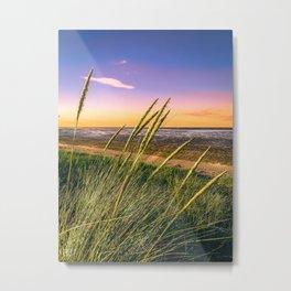 Sun Set. Metal Print
