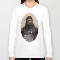 planet of the apes Long Sleeve T-shirts featuring Planet of the Apes  by Rotton Cotton Candy
