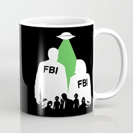 An X-File Coffee Mug