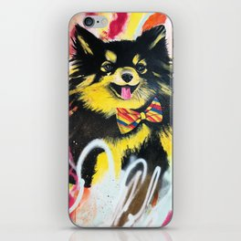 Pomeranian Pop iPhone Skin