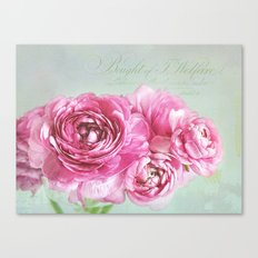little romance Canvas Print
