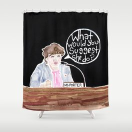 Congresswoman Katie Porter Shower Curtain
