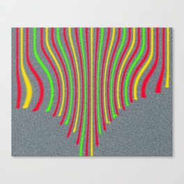lines of life Canvas Print