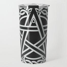 Celtic Pentagram Travel Mug