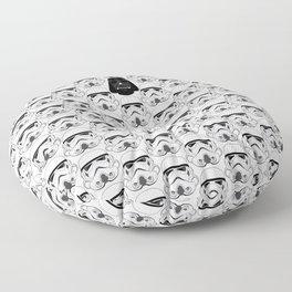 Stormtrooper pattern Floor Pillow