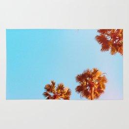 Evening Palms v1 Rug