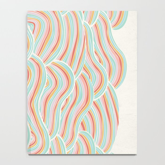 Summer Sea Waves Notebook