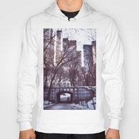 central park Hoodies featuring Central Park by MereMades
