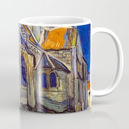 Vincent Van Gogh - The Church at Auvers Coffee Mug