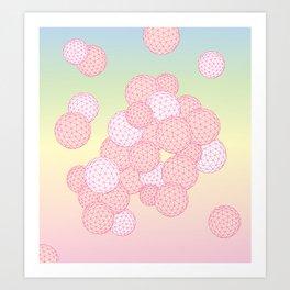 Bubbly Art Print