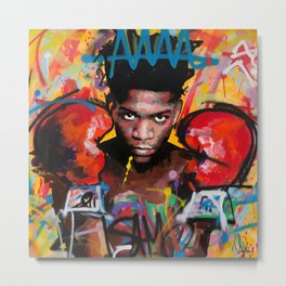 Jean-Michel Basquiat-ART Metal Print