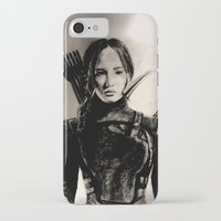 mockingjay iPhone & iPod Cases featuring MOCKINGJAY by shochat