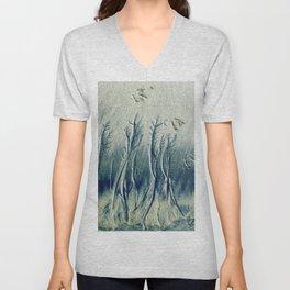 The Cypress Forest Unisex V-Neck