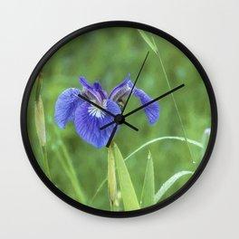 Iris at the Marsh Wall Clock