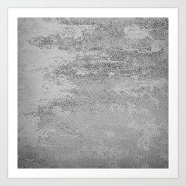 Simply Concrete Art Print