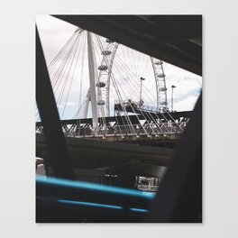 The Eye in the Middle Canvas Print