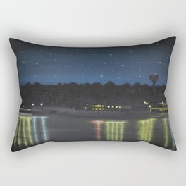 Starry Sky Over Ross Barnett Rectangular Pillow