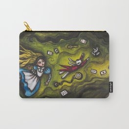 Down the Rabbit Hole Carry-All Pouch