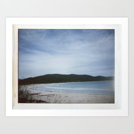 Playa Flamenco Art Print