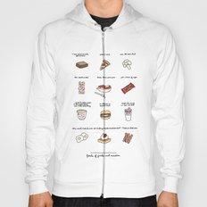 Foods of Parks and Rec Hoody