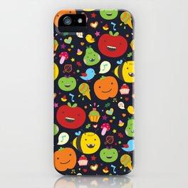 Fruticas pattern iPhone Case