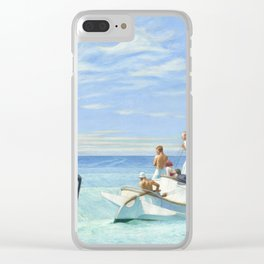 Edward Hopper Ground Swell 1939 Painting Clear iPhone Case