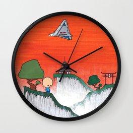 Portal Of Reality Wall Clock