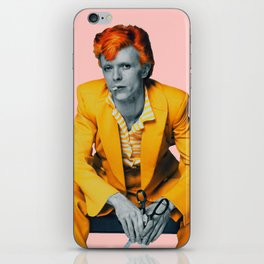 pinky bowie 2 iPhone Skin