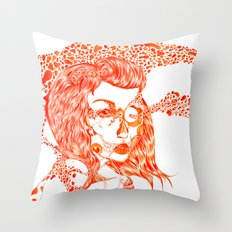 hives Throw Pillow