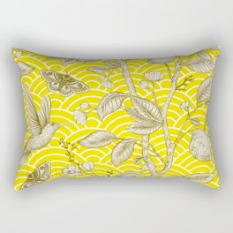 Lemons Pattern (yellow) Rectangular Pillow